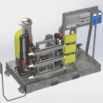 Pump Skid CAD Render