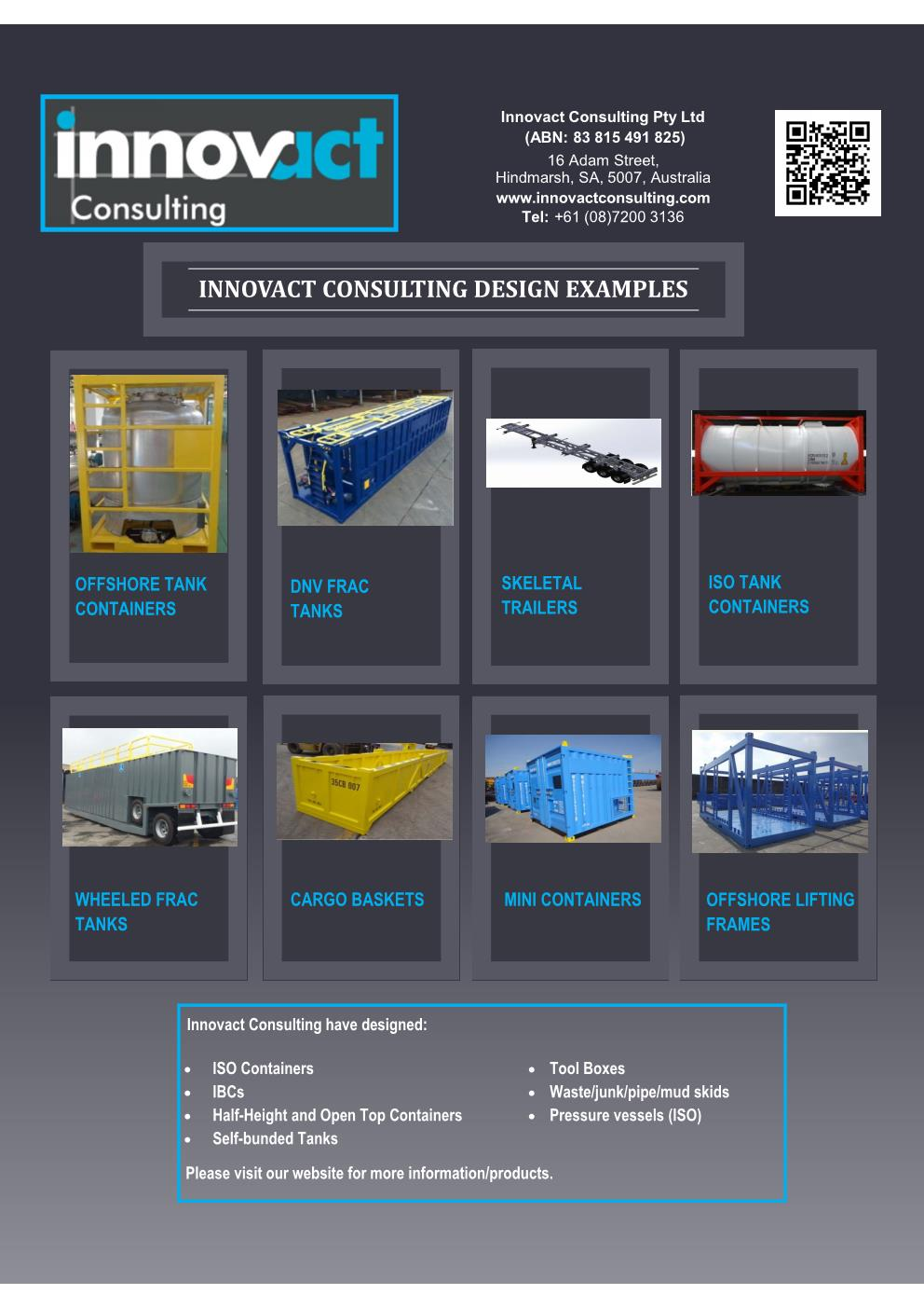Flyer Innovact Design Examples