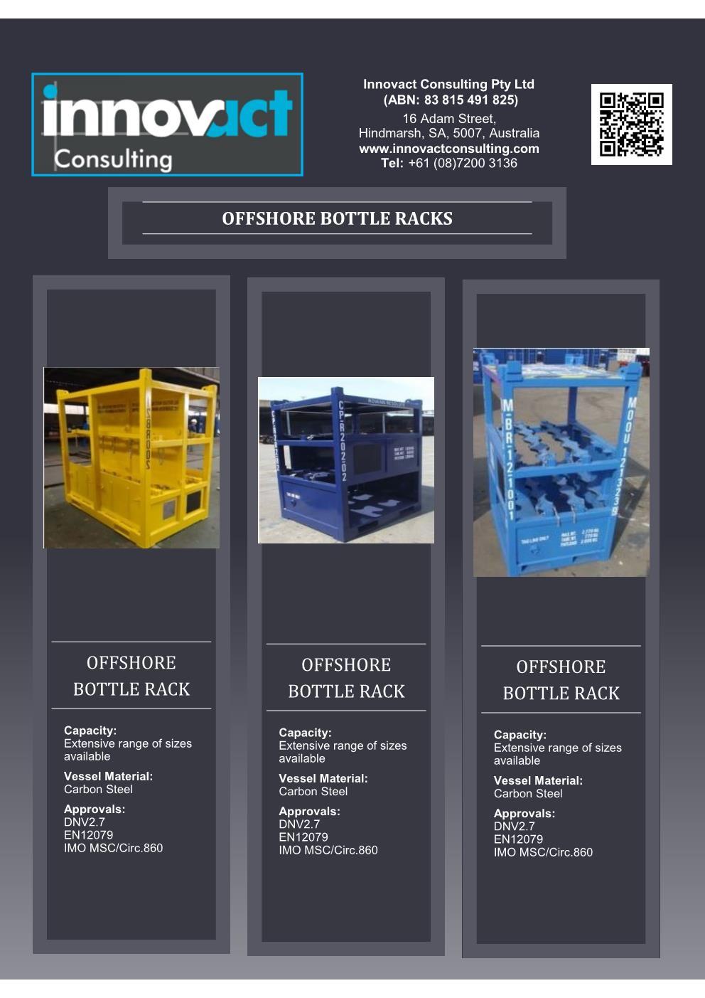 Flyer OShore Bottle Racks