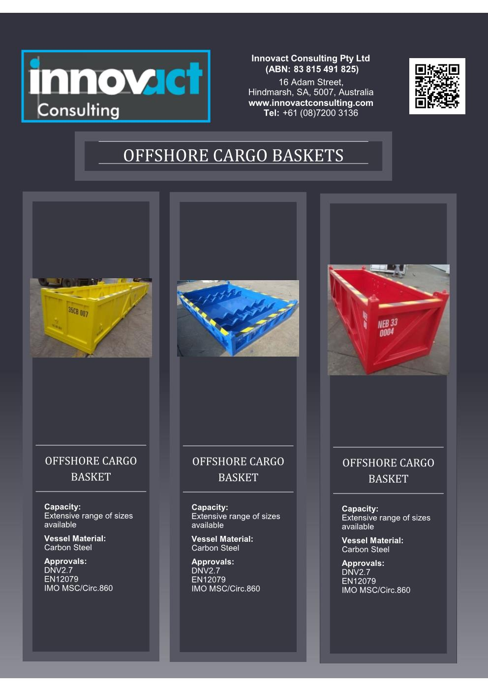 Flyer OShore Cargo Baskets