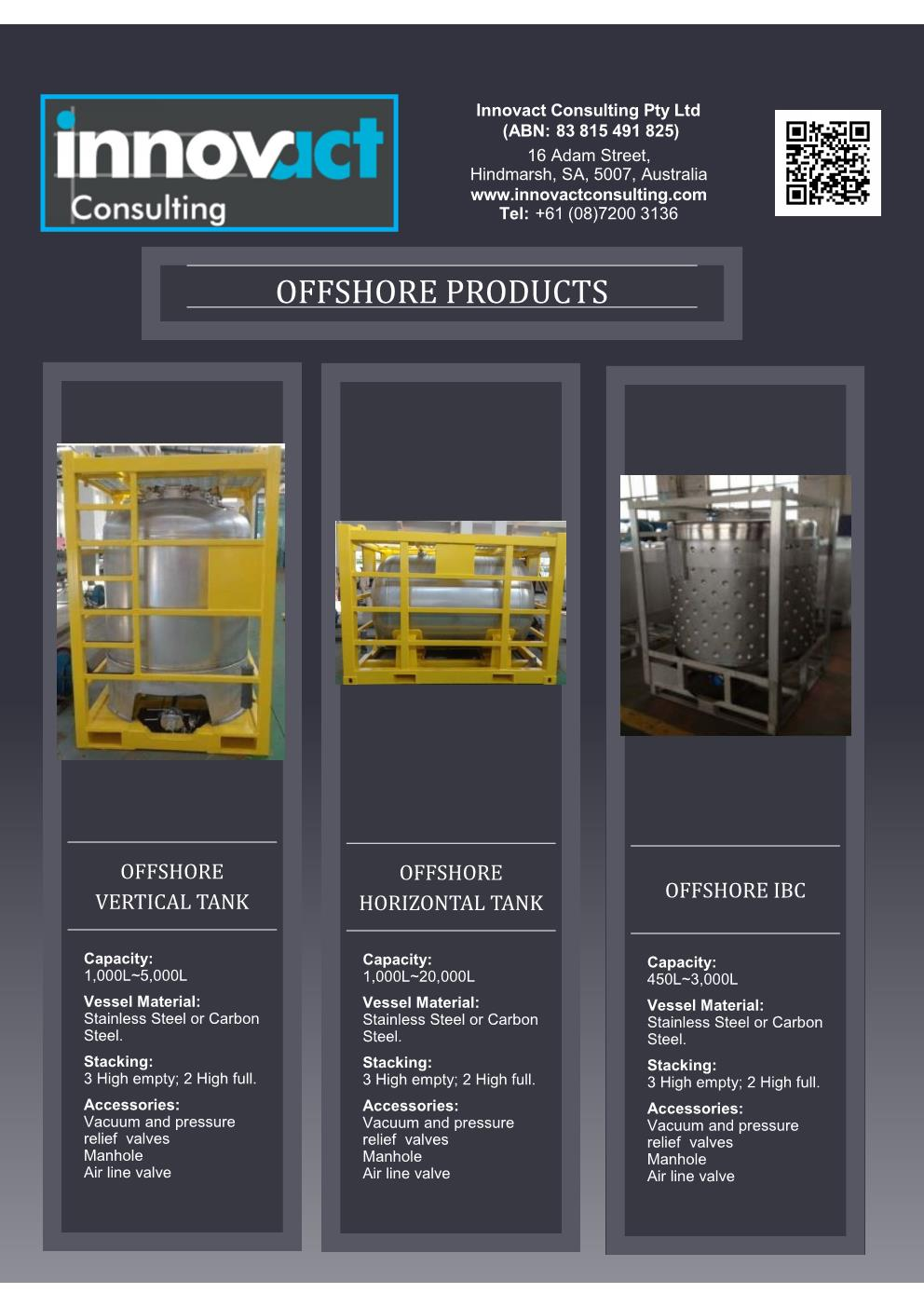 Flyer OShore Products