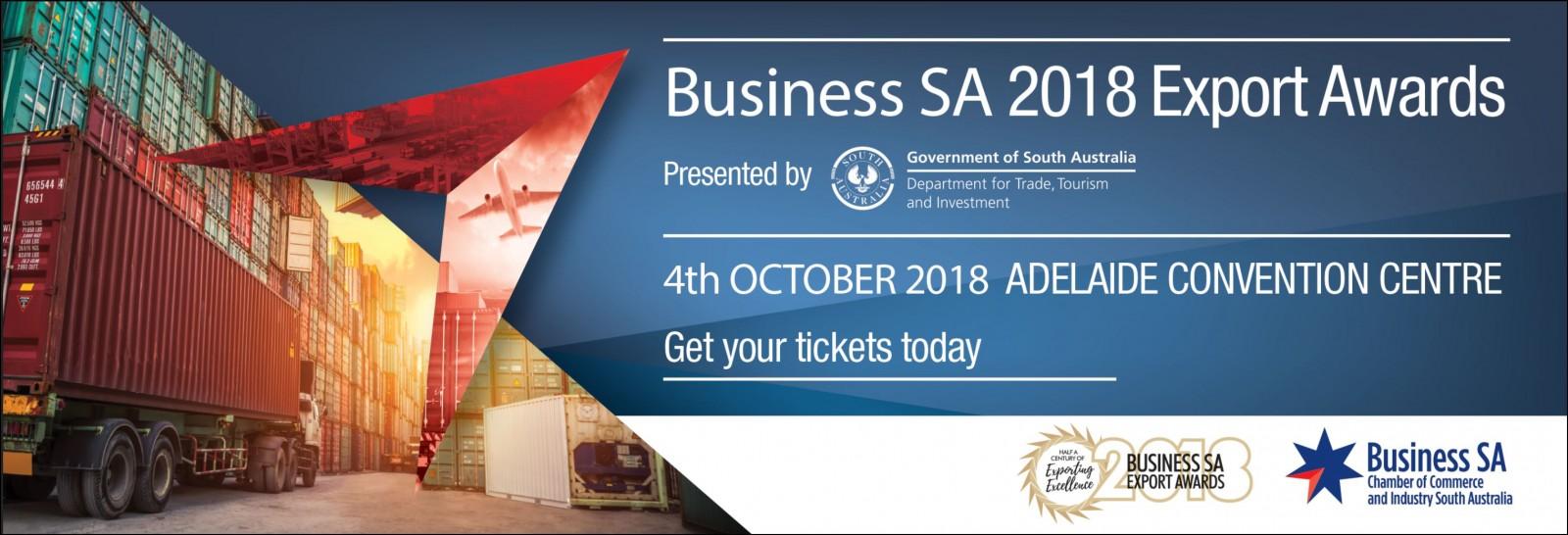 2018 Business SA Export Awards