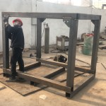 SHIPPING FRAME, LOADING CHECKS, FABRICATION